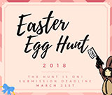 The Easter Hunt is on NOW! Deadline March 31st!
